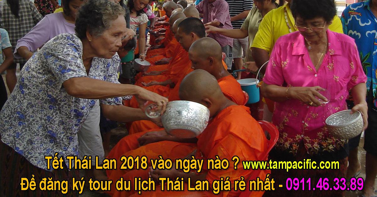 Tết Thái Lan 2018 vào ngày nào để đăng ký tour du lịch Thái Lan giá rẻ nhất