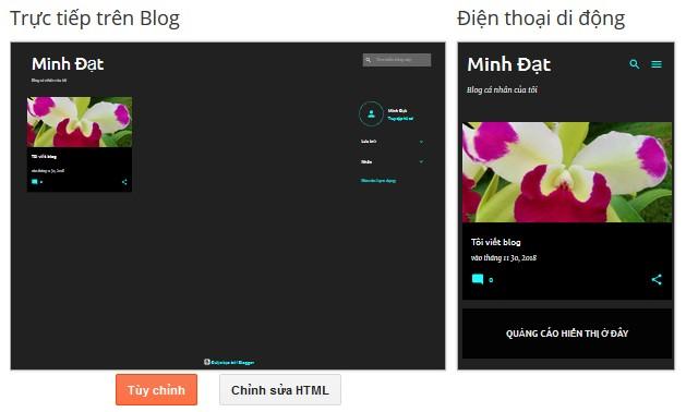chinh sua html