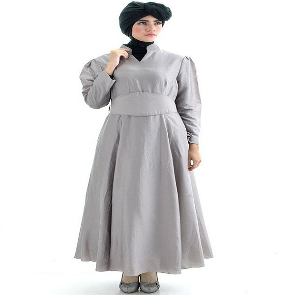 Model baju gamis terbaru yang elegan dan simpel Baju gamis pesta muslim
