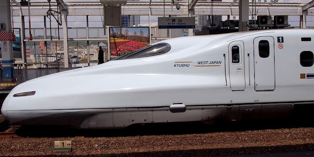 Image Attribute: The file photo of Shinkansen, Japanese Bullet Train / Source: Pixabay.com