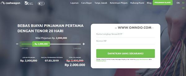 Cashwagon Pinjaman Online 24 Jam Langsung Cair Omndo Com