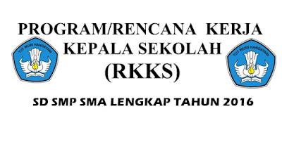 Program RKKS SD SMP SMA Tahun 2016