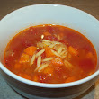 Soupe tomate et orzo