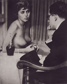 "Cover photo for Josef Breitenbach Photographien,  titled ""Dr.Riegler and J.Greno"" (Riegler was Breitenbach's best friend)"