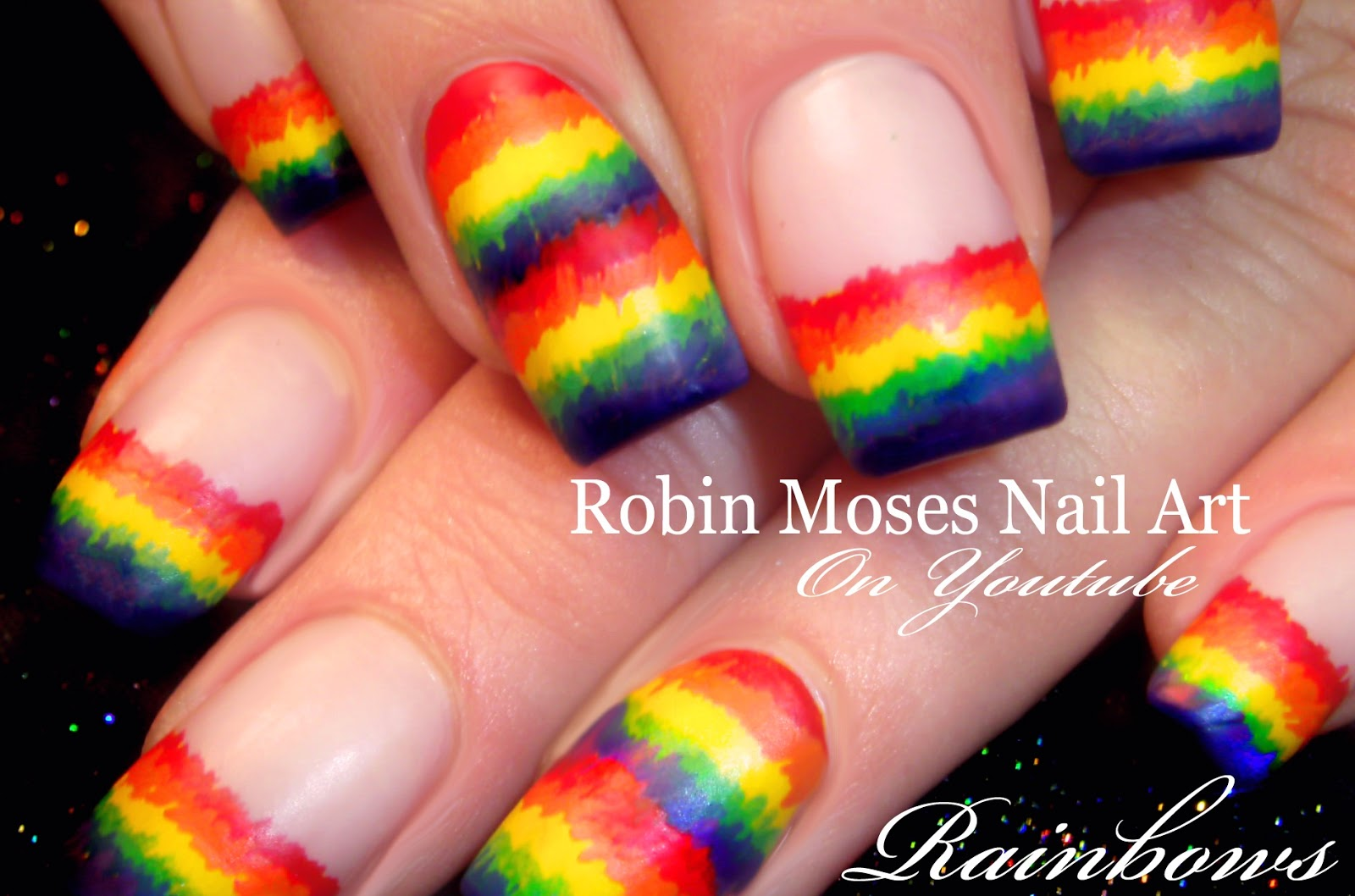 Robin moses nail art easy matte rainbow nails rainbow nails easy matte rainbow nails rainbow nails matte nails easy matte nails easy st paddy nails st paddys nails st patricks day nails prinsesfo Gallery