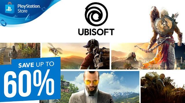 الإعلان عن تخفيضات رهيبة جدا على عناوين شركة Ubisoft من خلال متجر PlayStation Store ، اليكم من هنا..