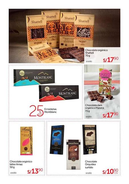 Catálogo de Chocolate