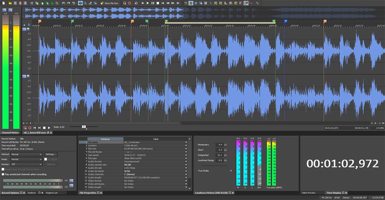 MAGIX - SOUND FORGE Audio Studio 13 v13.0.0.45 Full version