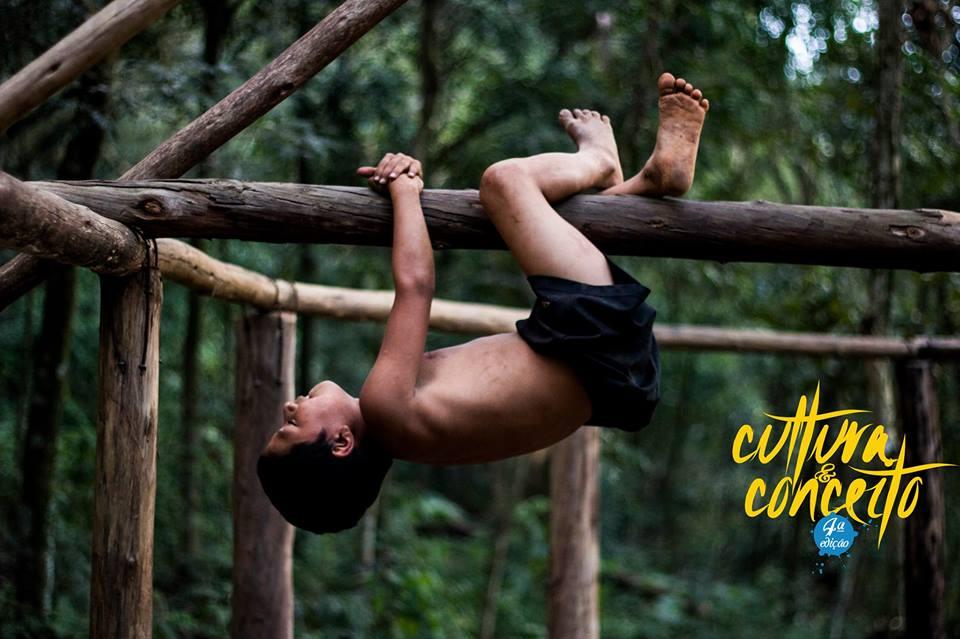 """Brincadeiras indígenas estão entre as atrações do """"Cultura & Conceito - 4ª edição"""". Foto: Thiago Carvalho"""