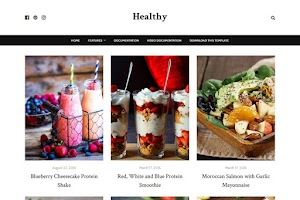 Healthy - Food Blogger Template
