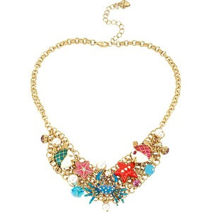 Betsey Johnson Under the Sea Necklace