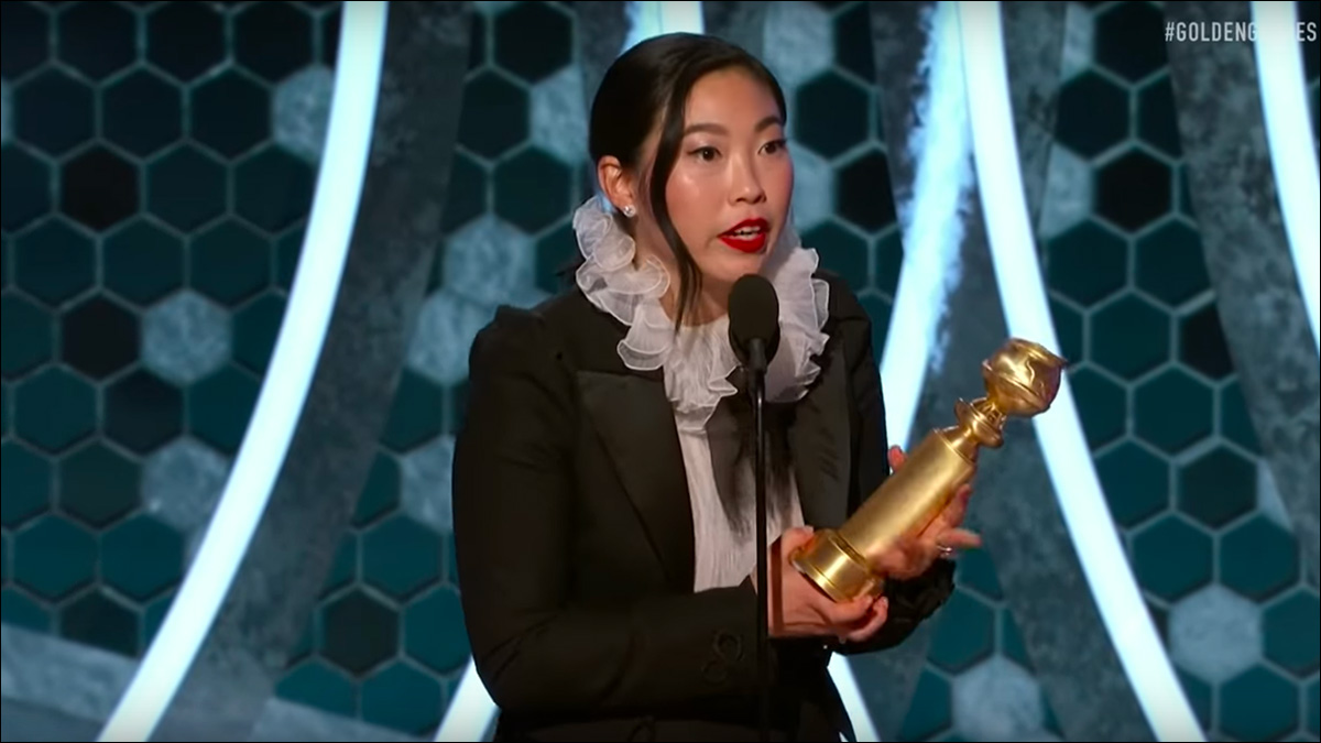 Awkwafina wins Golden Globe Award for 'The Farewell'