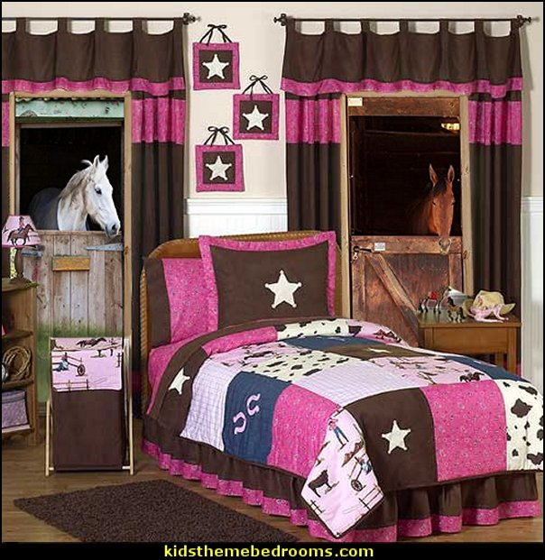 Sweet Jojo Designs Western Horse Cowgirl Bedding