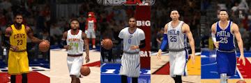 NBA 2k14 Roster update - February 21, 2017 - Updated Jerseys - HoopsVilla