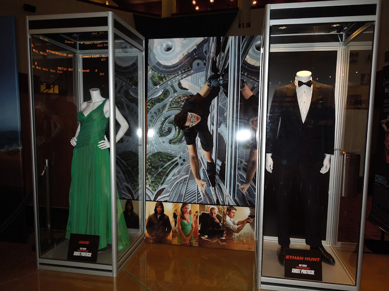 Ghost Protocol movie costume display