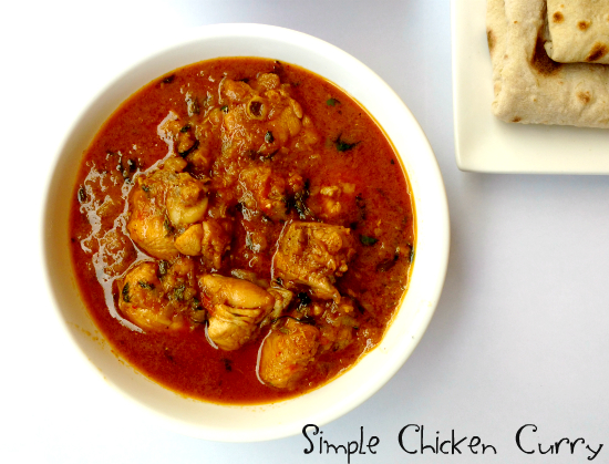 easy-chicken curry
