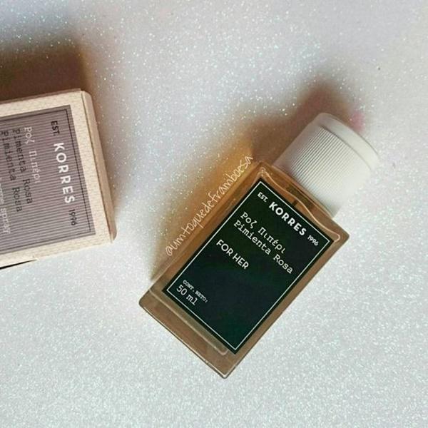 Resenha do perfume KORRES Pimenta Rosa