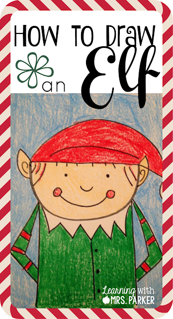 How to Draw an Elf Directed Drawing  Learning With Mrs Parker