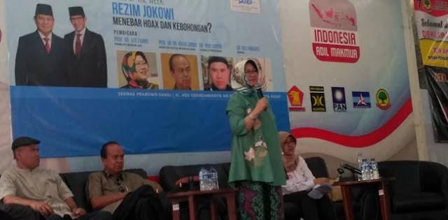 Siti Zuhro: Siapa Pun Presidennya, Yang Penting Jangan Bohong
