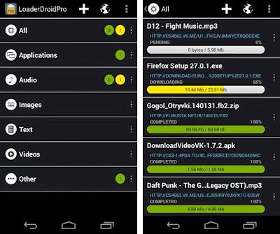 Loader Droid Aplikasi Download Manager