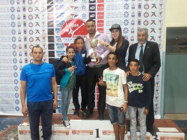 جمعية الأمل للتايكواندو و فنون الحرب ببرشيد تحرز الرتبة الأولى بالدوري الدولي بمدينة مراكش