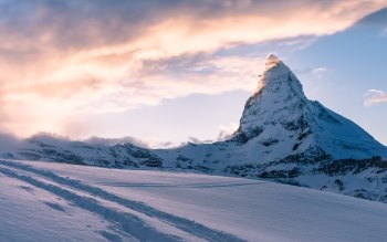 Wallpaper: Swiss Alps. Matterhorn. Mountain Peak