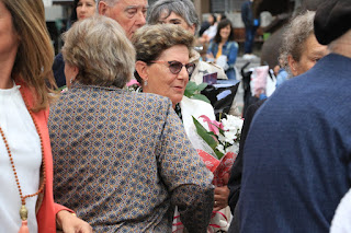 Homenaje a las víctimas de la Guerra Civil