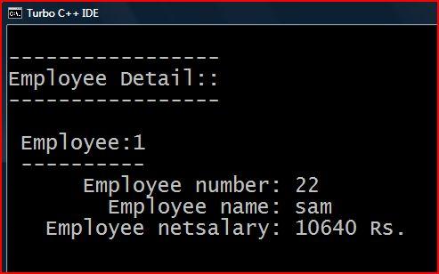 C Sharp Program For Employee Salary Calculation - clearxsonar