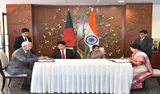 India and Bangladesh sign MoU for training 1800 Bangladesh Civil Servants