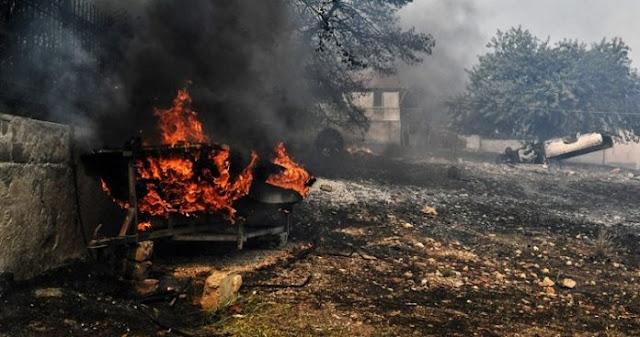 Καίγοντας για άλλη μια φορά την Ελλάδα