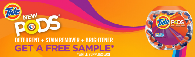 show and tell meg free tide pods sample