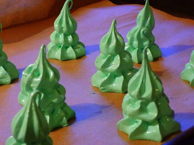 Tannenbaum Baiser Rezept Weihnachten Weihnachtsbaum