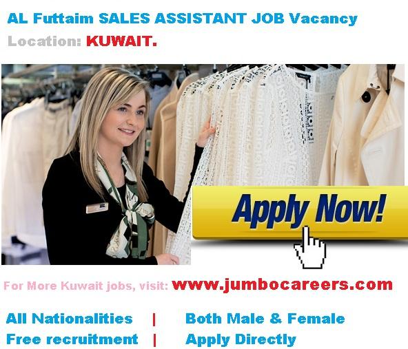 ladies job vacancies in kuwait, sales jobs for females in kuwait