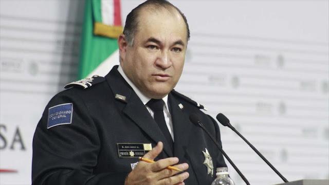 Destituyen al jefe de Policía de México por ordenar ejecuciones