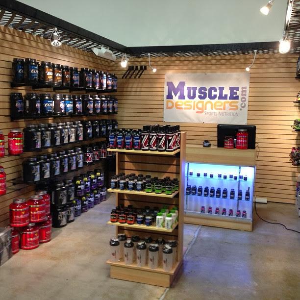 Tienda de complementos alimenticios Muscle Designers