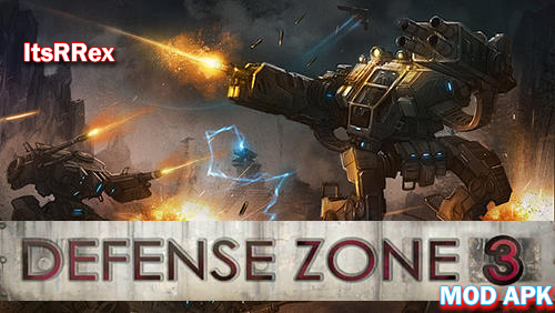 Download Defense Zone 3 HD MOD Unlimited Money APK