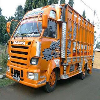 modifikasi truk hino ceper keren