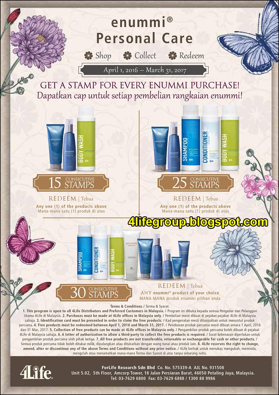 foto enummi® Personal Care 4Life Malaysia