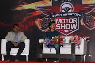 Tiger Shroff Launches Mumbai International Motor Show 2017 027.JPG