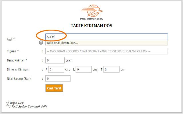 Download Tarif Jne Jakarta 2013 Edotek Uk Chemical Consultants Analysis Materials Perubahan Tarif Pos Indonesia Dan Jne Official Site – Penerbit Pro