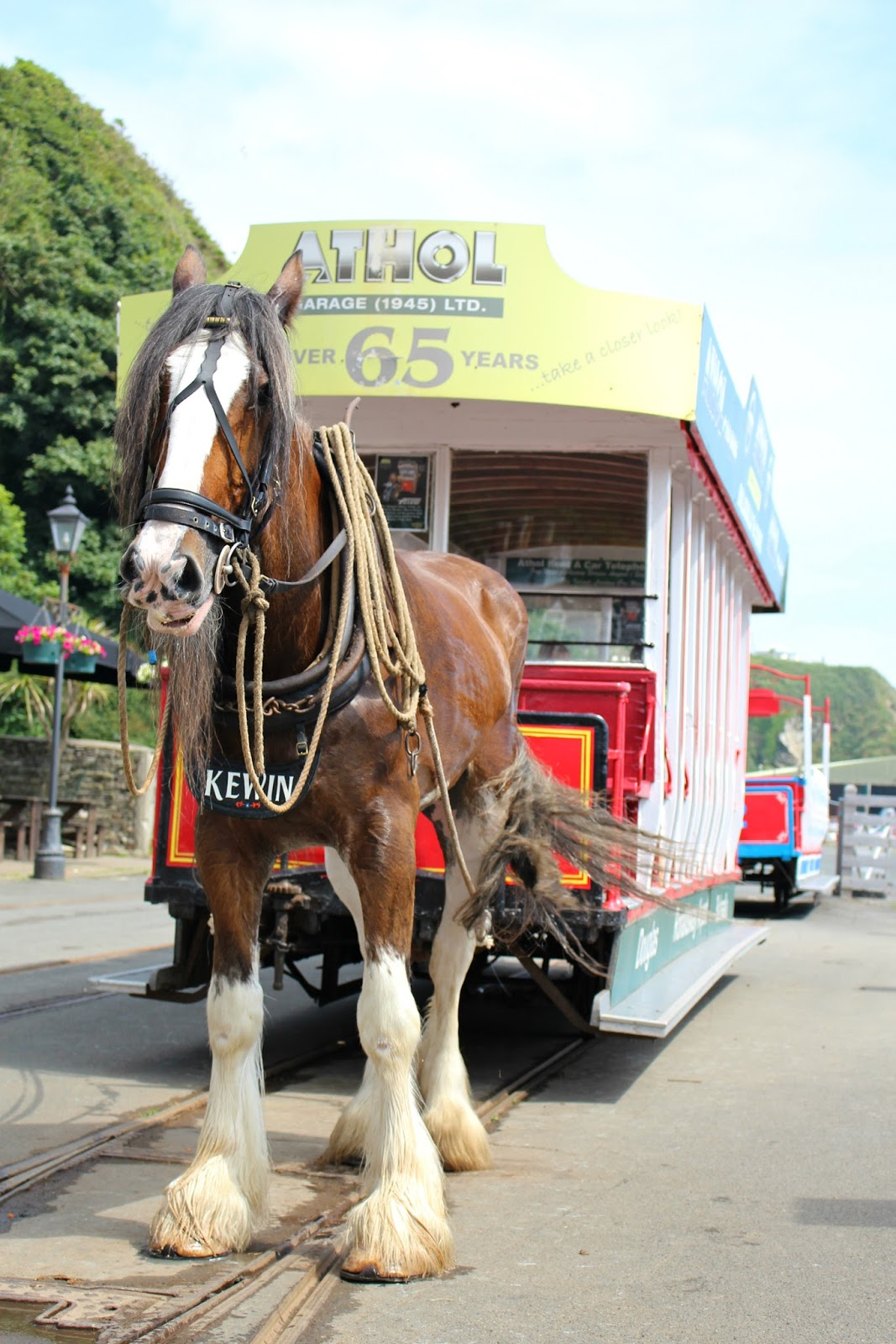 Isle Of Man Photo Diary Tram horse railway Douglas