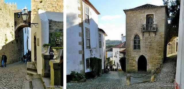 Ruas medievais de Óbidos