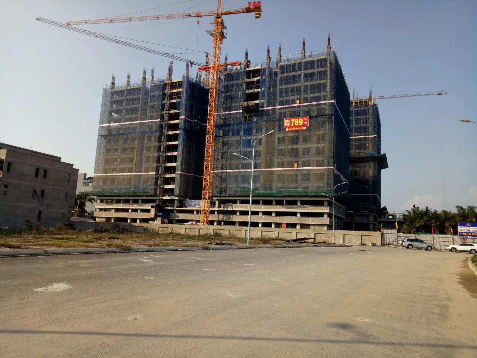 Tiến độ xây dựng dự án Chung cư 789 Xuân Đỉnh | Update Ngày 20/2/2017