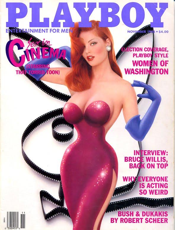 ImNotBadcom  A Jessica Rabbit Site Jessica Rabbit Magazine Covers