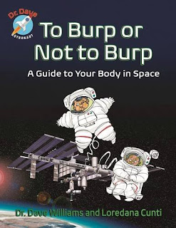 Enter to #win the book To Burp or Not to Burp by astronaut Dr Dave Williams. #Giveaway ends 10/31