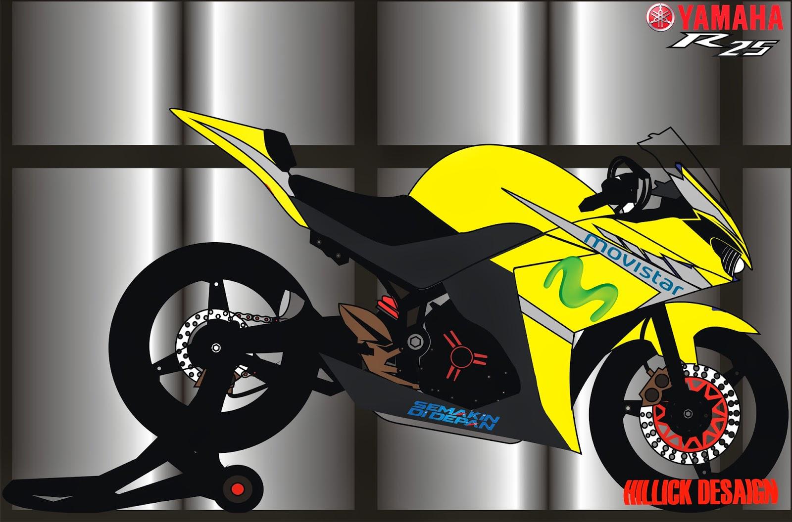 Kumpulan Gambar Sketsa Motor Drag Mio Terbaru