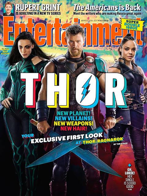New Thor Ragnarok images