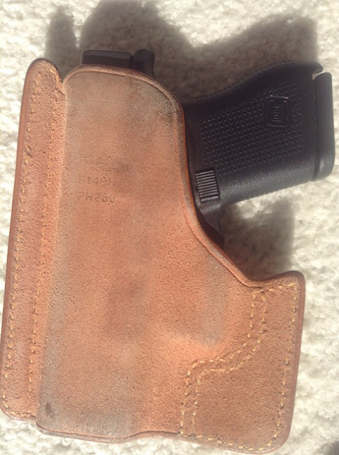 The Next Chapter: Don Hume Pocket Holster 001 No  43 for the Glock-43