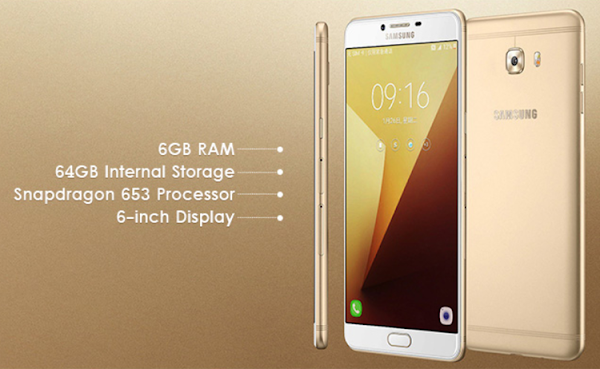 Spesifikasi dan Harga Samsung Galaxy C9 Pro