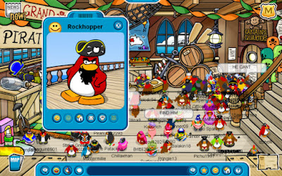 Juego club penguin